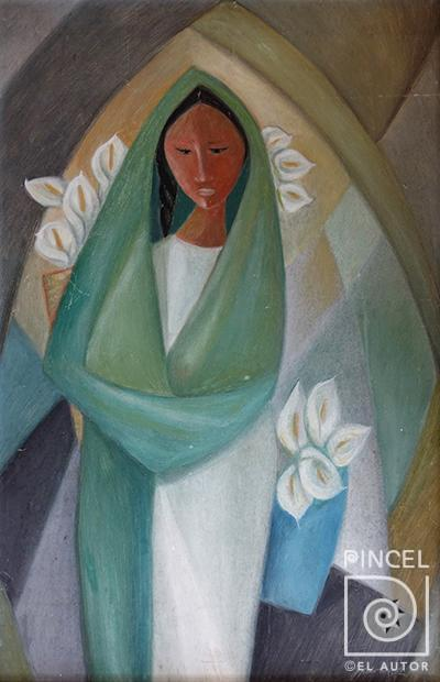 Virgen por Alvarado, Francisco
