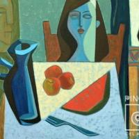 The blue vase por Fonseca, Harold